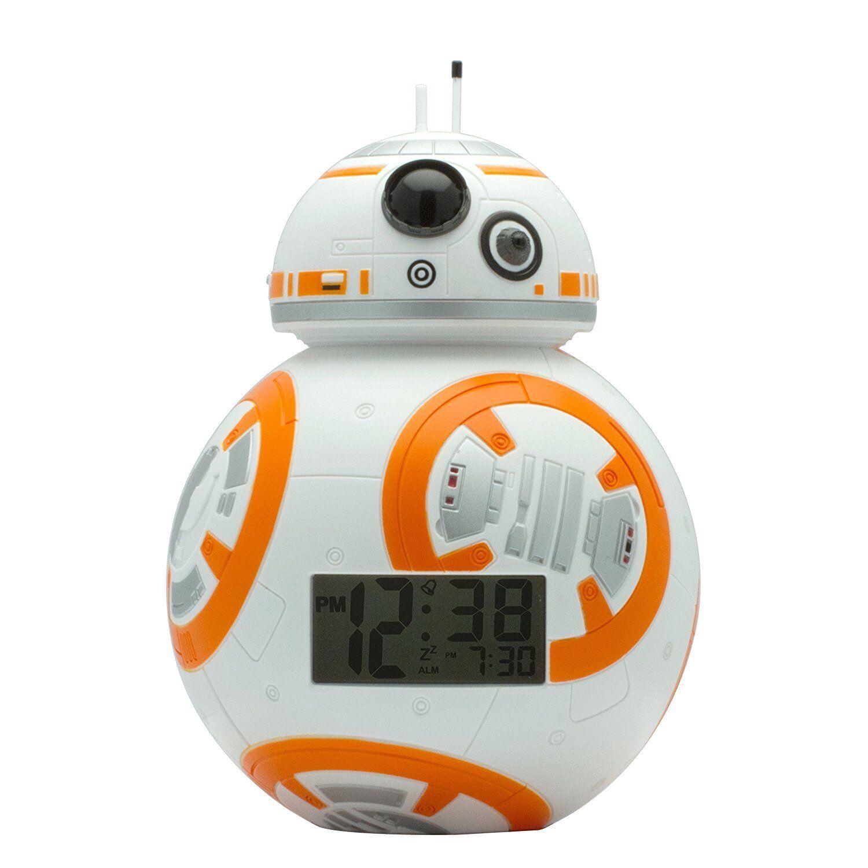 Reloj Despertador BB-8 Star Wars VII  El despertar de la Fuerza Niño NOVEDAD