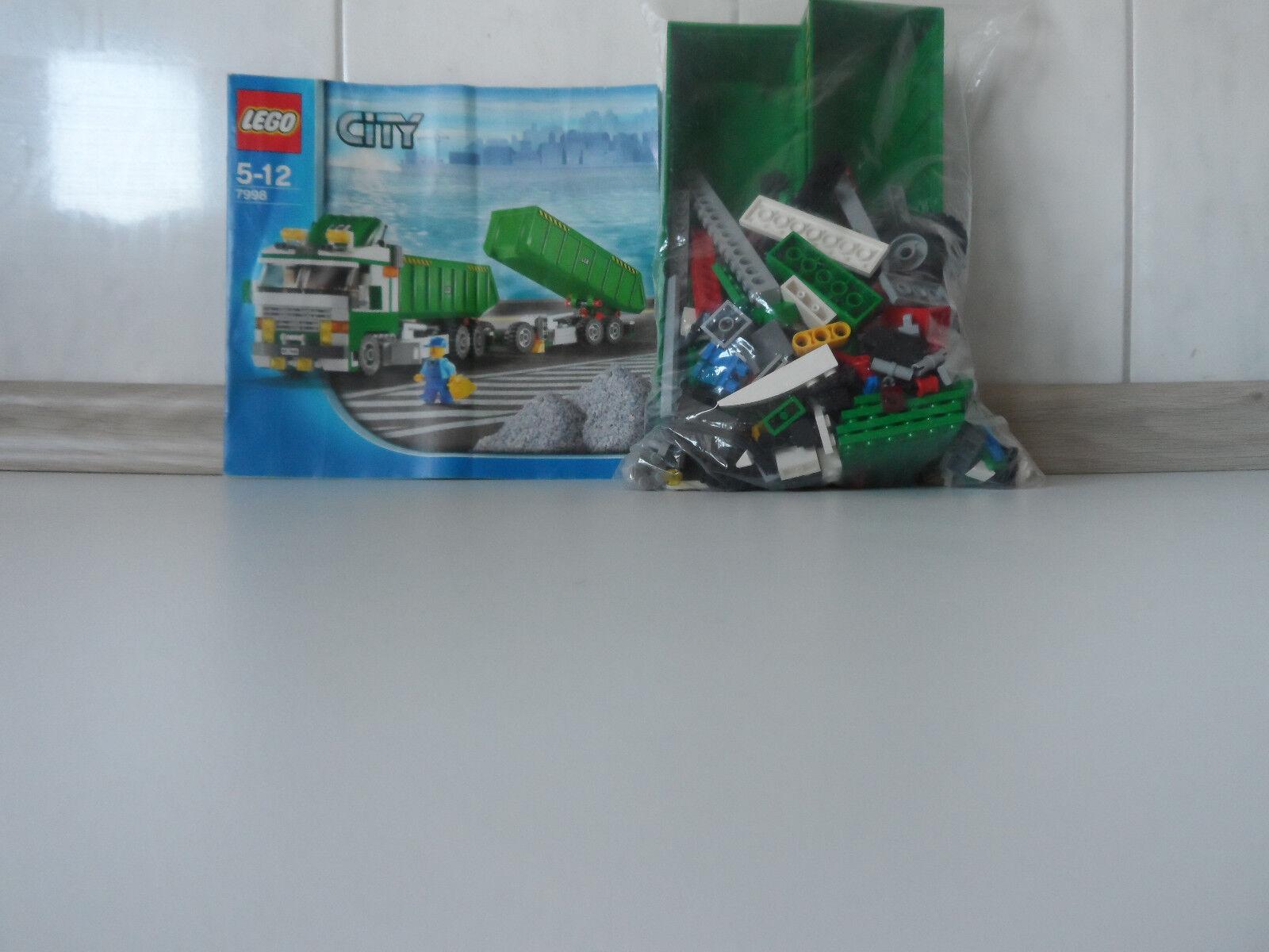 LEGO City Kippsattelzug Set 7998