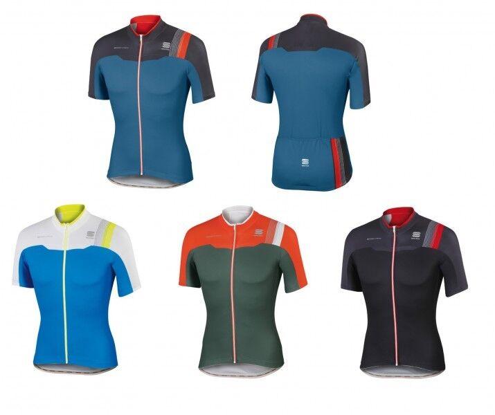 Sportful Bodyfit Jersey Pro Team Jersey Bodyfit Rennrad-/Fahrradtrikot atmungsaktiv - 1101602 da1396