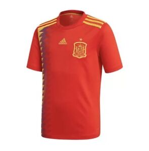 100% authentic b134c 1a4a7 Details about 2018 World Cup Spain National Soccer Team Jersey Mens L  Adidas CX5355