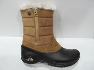 8b3ea71f9 Details about New Box Womens The North Face Brown Shellista III Pull-on  Waterproof Boots 6.5 8