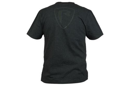 Fischen Kleidung Fox Rage Schwarz Mergel T-Shirt