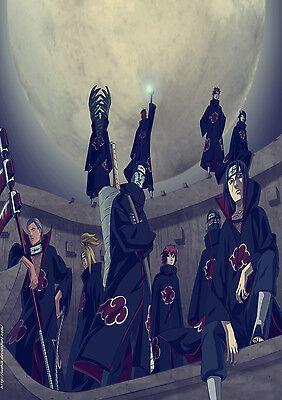 Uzumaki Naruto Japanese Anime Art UZN04 POSTER A4 A3 BUY 2 GET 3RD FREE