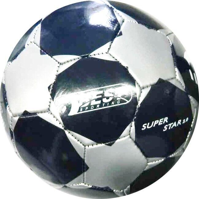Best Sporting Fußball Fußball Fußball SUPER STAR 2.0 Trainingsball Ballset Fussball blau silber  | Zu einem erschwinglichen Preis  e3fbd3