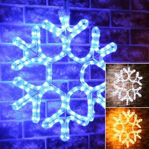 ConnectPro-Connectable-Outdoor-Christmas-LED-Snowflake-Motif-Garden-Rope-Light