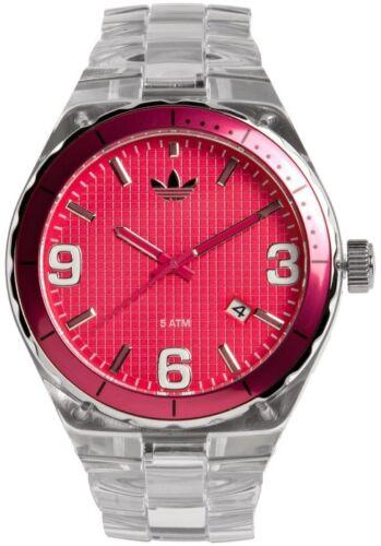 adidas Originals cara Cambridge adidas Reloj transparente | con cara de color rosa ADH2512 | c9c6b46 - accademiadellescienzedellumbria.xyz