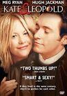 Kate & Leopold 0031398137719 With Hugh Jackman DVD Region 1