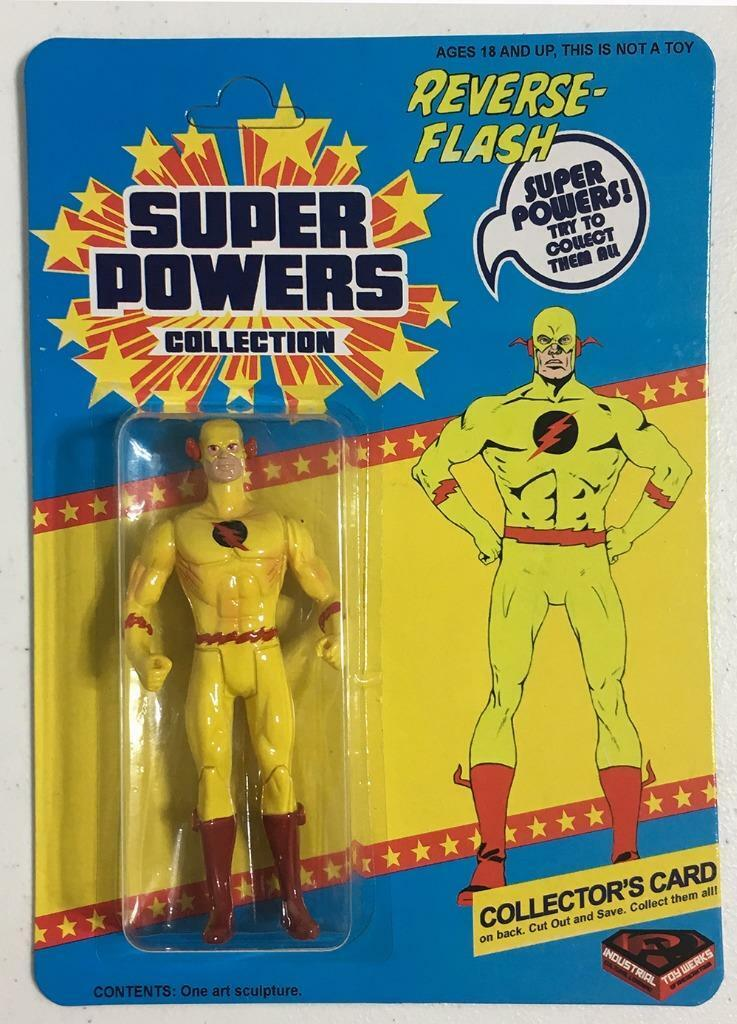 Reverse Flash Super Friends Super Powers Mint on Card Made by ITW 3rd series