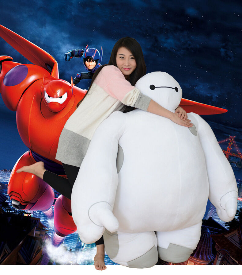 Weiß Big Hero 6 Baymax Robot Plush Stuffed Toy Dolls Kid birthday Gift handmade