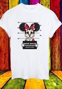 DISNEY-Minnie-Mouse-formato-ritratto-personaggio-dei-cartoni-animati-Divertente-Uomini-Donne-Unisex