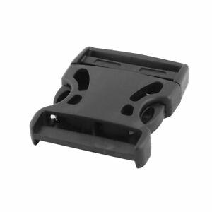 Hebilla de Liberación Rápida Lateral de Plástico Negro de 5cm para Mochila