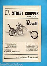 ALTOP972-PUBBLICITA'/ADVERTISING-1972- KOSMOS - REVELL - L.A. STREET CHOPPER