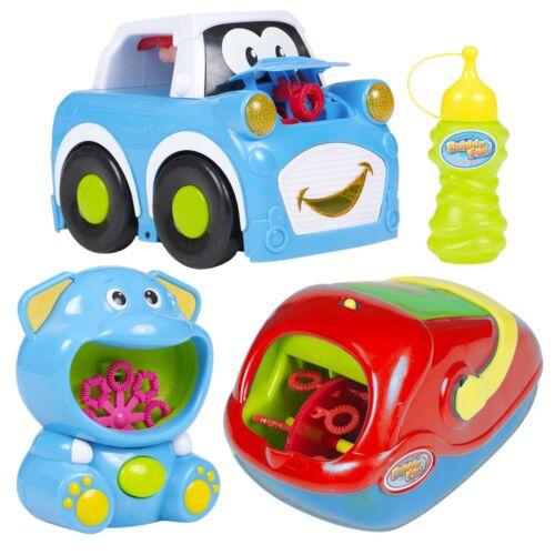 Máquina De Burbujas Niños Maker Soplador jardín fiesta de cumpleaños divertido juguete de verano al aire libre