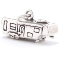 3d Travel Trailer Rv 5th Wheel Camper Charm Pendant Solid 925 Sterling Silver