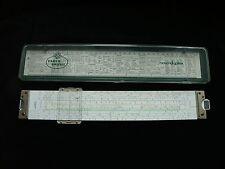 vintage FABER CASTELL novo duplex 2/82 N, famous German slide rule