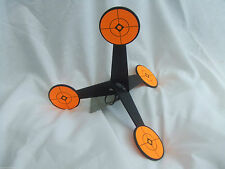 WALKING MULTIPOINT METAL FREE STANDING AIR RIFLE TARGET - spins, moves & rolls
