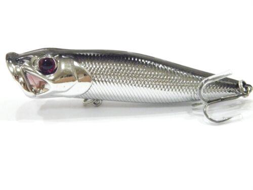 Topwater Fishing Lures 3 1//2 inch 1//3 oz Large Splash Popper Bass fishing T604