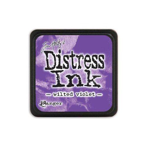 Mini Distress Ink Pad Wilted Violet Purple Tim Holtz