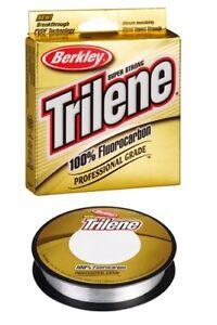 verschiedene Stärken Vorfachmaterial Berkley Trilene Fluorcarbon XL 50 m