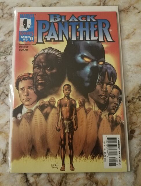 BLACK PANTHER #5 NM MEPHISTO 1 WHITE WOLF 1 APP1999 MARVEL KNIGHTS COMIC