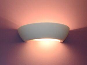 Plafoniere Da Muro Moderne : Ceramica applique da parete lampada colorabile luce pavimento