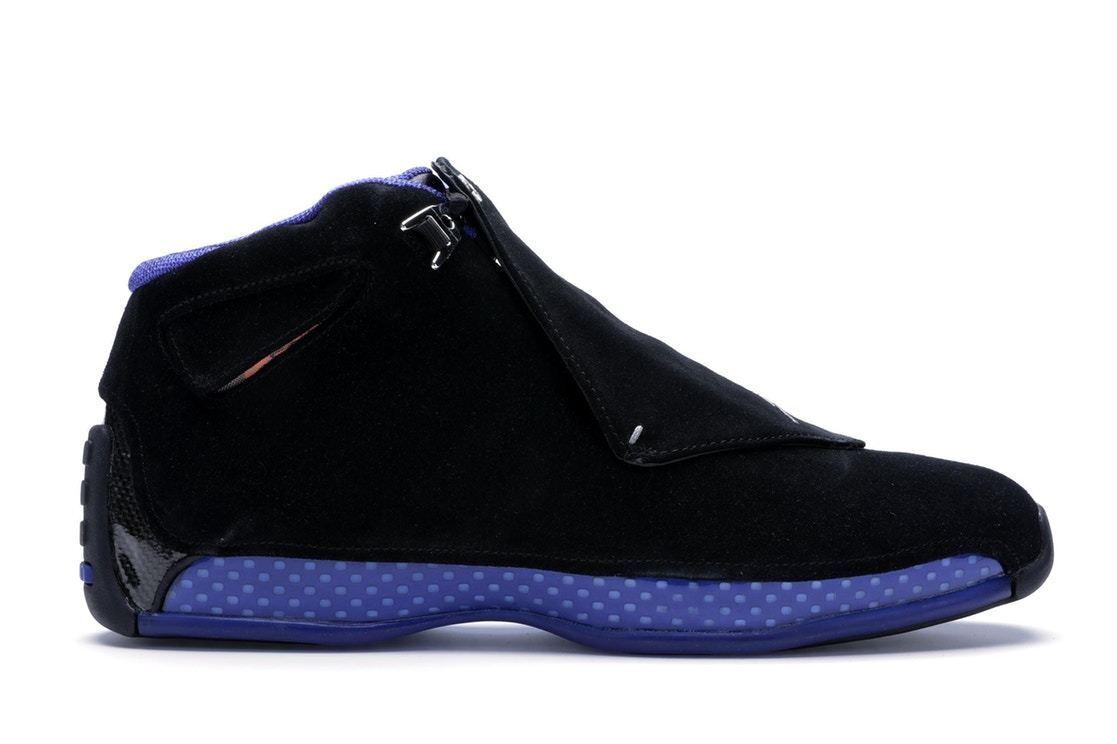 2018 Nike Air Jordan 18 XVIII Retro size 7.5. Black Sport Royal bluee. AA2494-007