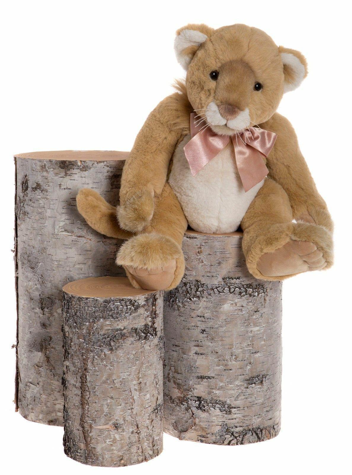 Charlie Bears - Safari BB173091 der Löwe schon für Kinder ab 18 Monate