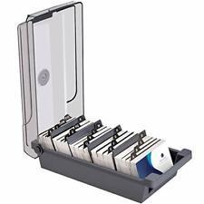 Business File Holder Organizer Case 500 Cards Capacity For Desk Divider Boards