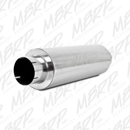 "MBRP 5/"" Quiet Tone Diesel Muffler Al M2220A 5/"" INLET OUTLET Universal"