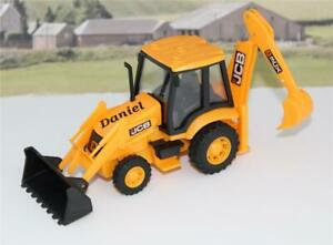Personalised-Name-Gift-JCB-Backhoe-Tractor-Digger-Boys-Toy-Birthday-Present-Box