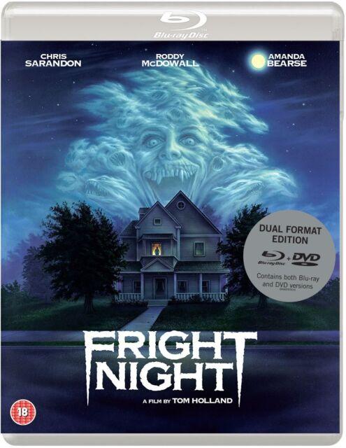 FRIGHT NIGHT (1985) Chris Sarandon Blu-Ray + DVD BRAND NEW Free Ship