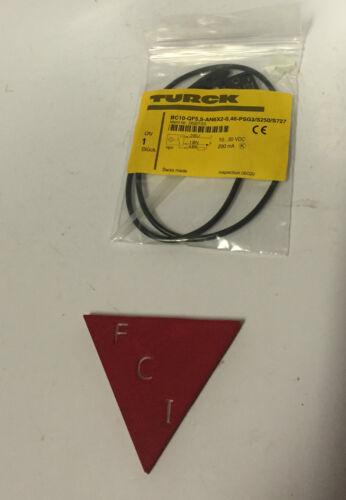 Turck Capacitive Proximity Sensor BC10-QF5.5-AP6X2-0.46-psg3//s250//s727 10-30 vdc