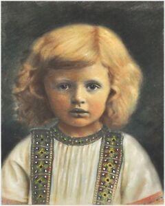 Jugendstil-Portrait-eines-kleinen-Kindes-sign-C-Althof-1906