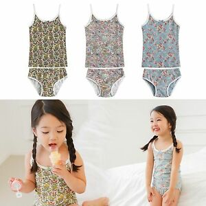 Vaenait Baby Kids Girls Panties Undershirts + Brief