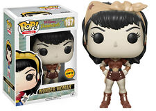 Pop! Heroes: DC Bombshells Wonder Woman Chase #167 Funko Damged Pack