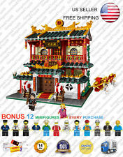 XB-01004 Dojo Martial Arts School Club XingBao Creator Building Blocks 2531 Pcs