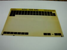 HONDA ATC125  ATC 125 MG 1986 GEN PARTS CATALOGUE MICROFICHE