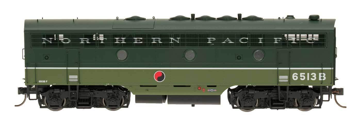 Intermountain Ho 49533 (s) NP despide BN Patch F7B Locomotora