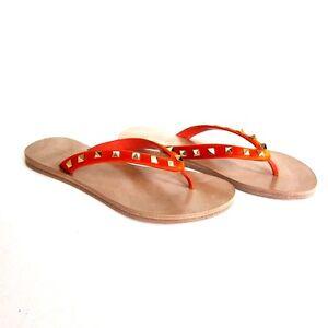 a06f36b27a2 J-2357112 Neuf Valentino Garavani Orange   Sandale String Chaussure ...