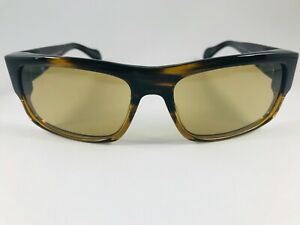 Mens OLIVER PEOPLES Robert Evans NOIR Matte Black Polarized Sunglasses 56-17-135