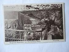 Ansichtskarte Burgruine Regenstein bei Blankenburg Harz Burgverließ
