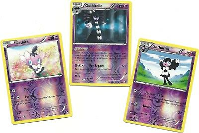 GOTHITA 39//111 REV HOLO POKEMON XY FURIOUS FISTS
