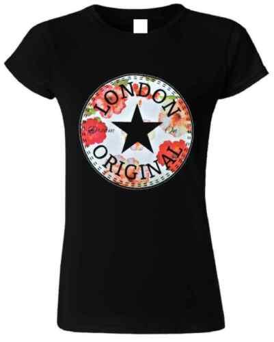 London Tee Flowers Original Dream On Tops T Shirts