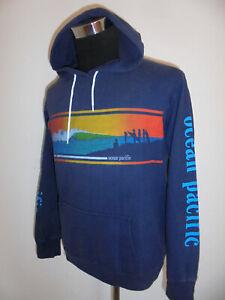 rare-vintage-80s-OCEAN-PACIFIC-hoodie-OP-Kapuzenpulli-sweatshirt-vintage-L-M