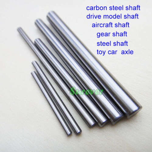 5pcs Carbon Steel Gear Shaft Rod Drive Model Axle 4WD Car Boat Toy transmission