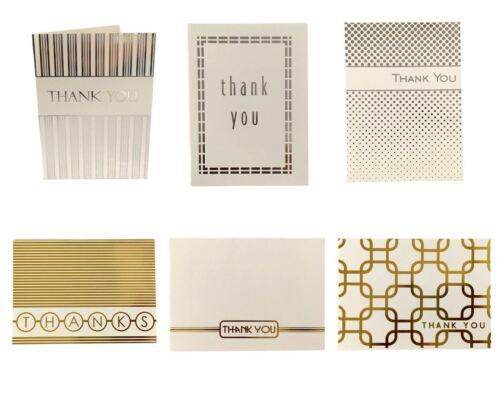 24xThank you Cards /& Envelopes Birthday Wedding Craft Bulk Thank you Card Pack