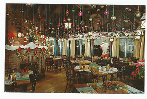 Silver Spring Md Mrs K S Toll House Christmas Yule Postcard Ebay
