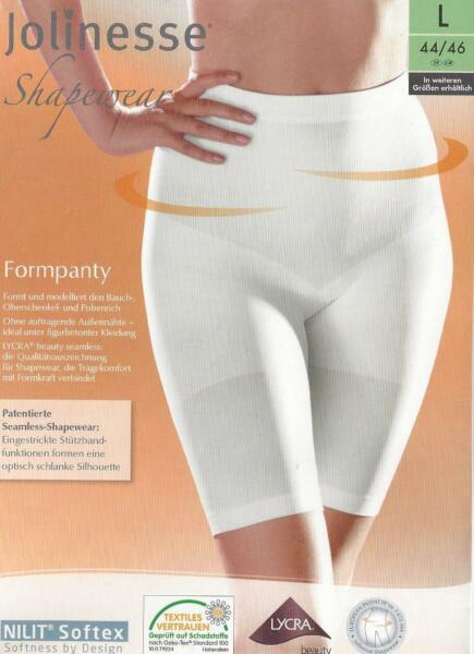 Shapewear Formpanty M L XL weiß braun Slip Panty Formslip Miederhose Hose