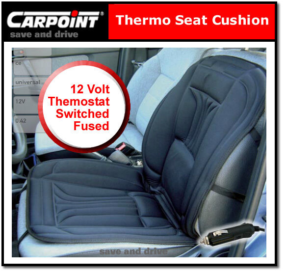 Carpoint 0310021 Thermo Car Seat Heating Pad 12 V