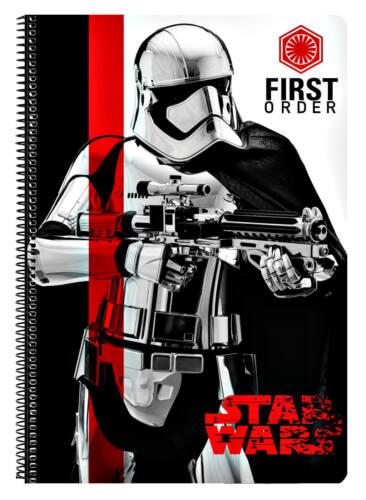 Star Wars VIII Block Notizblock Collegeblock Schreibblock Schulblock Notizbuch